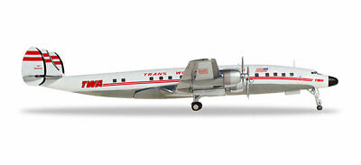 "Herpa Wings TWA Retro N8083H/"" Lockheed L-1649 1//200"