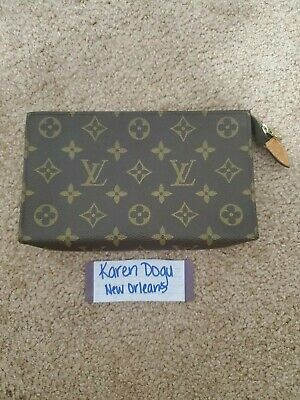 Authentic LOUIS VUITTON Monogram womens special order Toiletry 20 Pouch