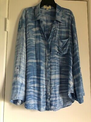 Cloth & Stone Anthropologie Clouds Shirt Large