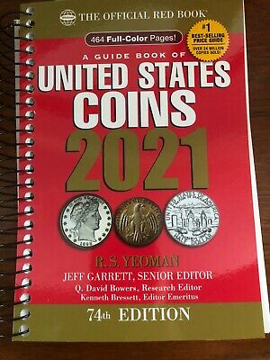 IN STOCK - 2021 Spiral Red Book Price Guide of United States Coins