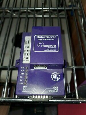 FieldServer Technologies QuickServer FS-QS-1010-0030 Serial-Ethernet