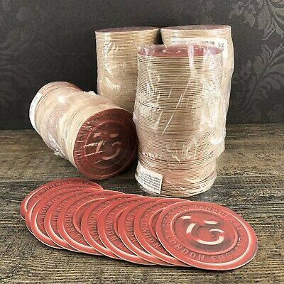 Tanqueray Coasters Set Of 100 Double Sided Bar Beverage Barware England