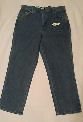 NWT Lee Womens Relaxed Fit Jeans Size 14 Short Straight Leg
