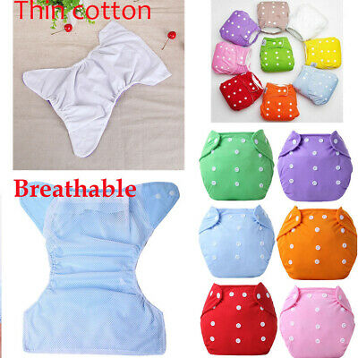 Reusable Baby Nappy Cover Cloth Diaper Cover for 0-3 Year with Adjustable Wrap