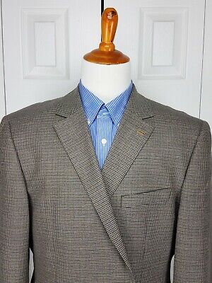 Stafford Mens Classic Fit Blazer Sports Coat Suit Jacket Size 48R Elbow Patches