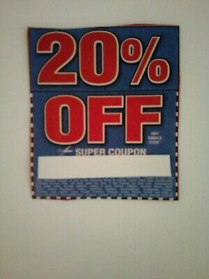 Harbor Freight 20% Off Coupon,Exp.may/2020 L@@K