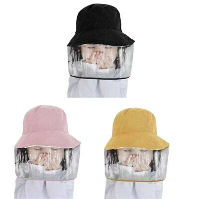 2in1 Kids Toddler Protection Hat with Removable Cover Full Face Shield Cap Hat
