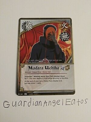 Naruto TCG//CCG Double Sided Turn Markers Akatsuki members and Cloud symbol