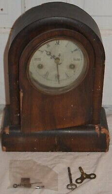 Antique Gilbert 8 Day Striking Parlor Clock