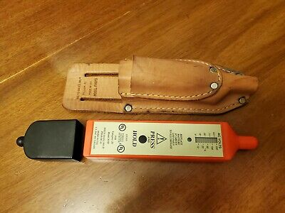 Telco FVD Cat IV 3NXR Voltage Detector With Leather Pouch