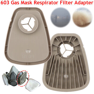 10Pairs 603 Filter Adapter Platform For 3*M 6000 7000 Series Industry Face Guard