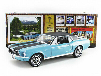 Greenlight Collectibles - 1/18 - Ford Mustang - Coupe Ski Country Special 1967 -