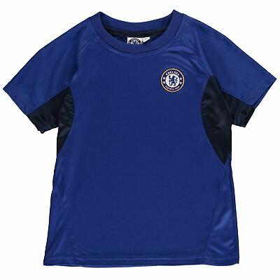 Source Lab Kids Boys Chelsea Poly T Shirt Junior Short Sleeve Performance Tee