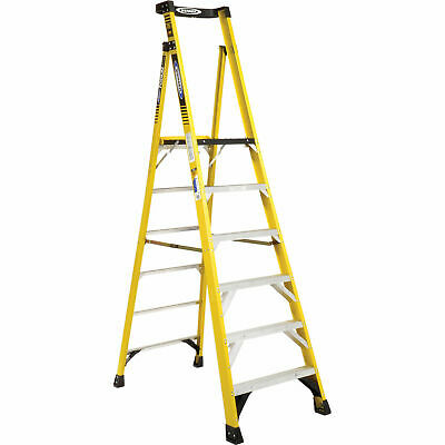 Werner PD7306 6' Type 1AA Fiberglass Podium Ladder