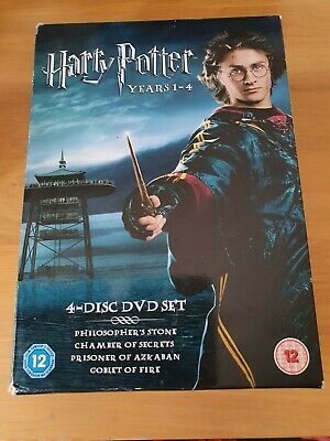 Harry Potter: Years 1-4 (4 Disc Box Set)