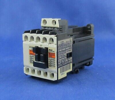 Fuji Electric  Sc-05/G  Sc14Ag Magnetic   Contactor, Coil 24Vdc  . Tested