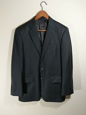 Brooks Brothers Wool Blazer Saxxon Madison Fit gray Made in USA Mens 38 S