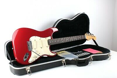 Fender Stratocaster Plus ★ USA 1991 ★ Frost Red ★ Lace Sensor ★ OFHC ★ Rare ★