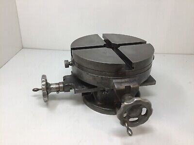 """Palmgren Machinist Milling Table Drill Press Vise 8"""" Cross Slide Rotary Table"""