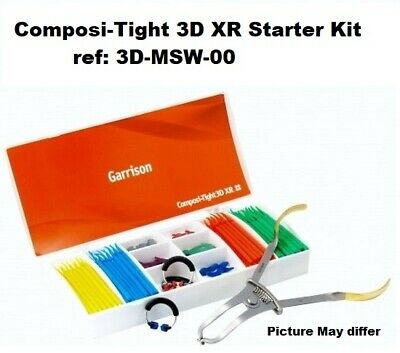 Composi - Tight 3D Xr Sectional Matrix System Dental Kit 3D-Msw-00 Garrison Co
