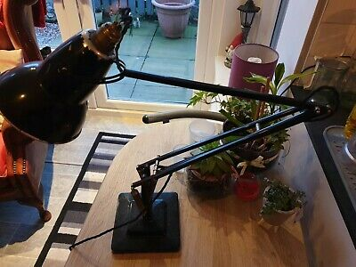 Vintage Black Terry Herbert Mid Century Anglepoise Lamp - For Rewiring 1950s 60s