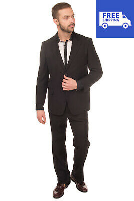 RRP €290 DOMENICO TAGLIENTE Suit Size 49 / M Single Breasted Notch Lapel Collar