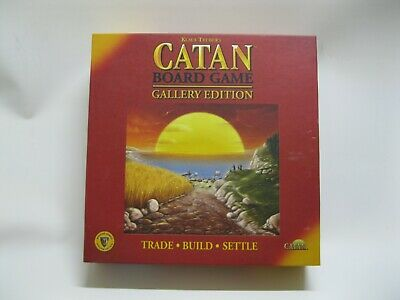Catan Board Game: Gallery Edition - Trade Build Settle Mayfair Games Complete L4