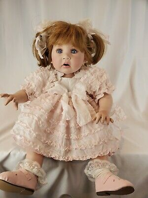 """Marie Osmond ~LITTLE THINGS ~ Porcelain 12"""" Seated Doll - #1000/2500"""