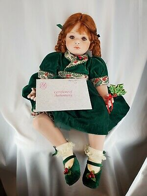 """Marie Osmond Holly Lolli Toddler Doll Large About 20"""" Size #0069/2500 COA"""