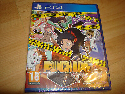 PUNCH LINE ** NEW & SEALED ** Sony Playstation 4 Ps4 Game