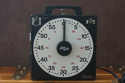 GrabLab  Darkroom/Lab Timer.Works. Model 171