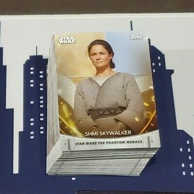 2020 Topps Women of Star Wars Complete 100 Card Base Set