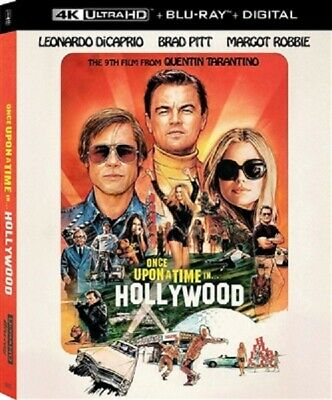 Once upon a Time in Hollywood 4K 10/19 4K (used) Blu-ray Only Disc Please Read