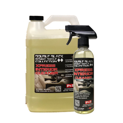P&S Xpress Interior Cleaner, Leaves Interior Clean, Pint and Gallon