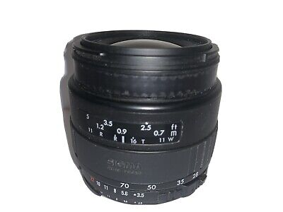 Gently Used! Sigma UC Zoom 28-70mm f/3.5-4.5 Autofocus 1:3.5-4.5 for Nikon