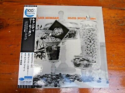 Lee Morgan-Candy-Blue Note BLP 1590 Mono-Alfred Lion 100th-Japan OBI NM- nice