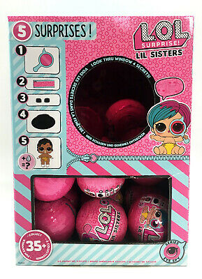 NEW LOL Surprise Doll Lil Sis Series-4 Wave-2 SEALED L.O.L. Mystery Ball Eye Spy