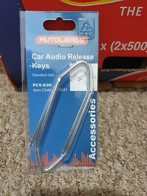 Autoleads - PC5-83H Car Sony Audio Release Keys Standard ISO