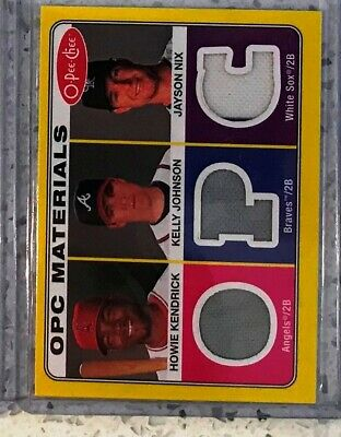 PS-27 2009 O-Pee-Chee Materials Howie Kendrick Kelly Johnson Jayson Nix
