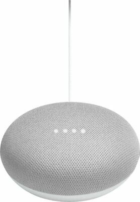 Google Home Mini Smart Speaker with Google Assistant Chalk NEW FAST SHIPPING