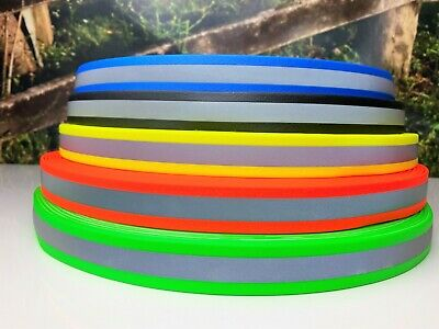 PVC Webbing - REFLECTIVE - 20mm and 25mm available