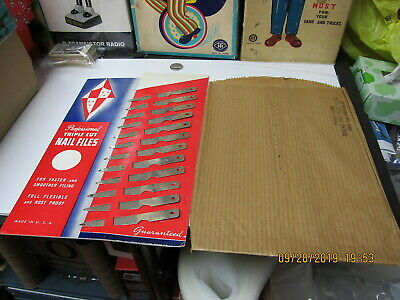 12 Vintage Nail Clippers With Store Display 1964 New Old Stock #250