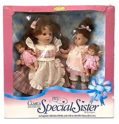 Vintage 1997 Berenguer Dolls - My Special Sister Clasica Collection Box Damaged