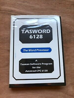 Tasword 6128 - The Word Processor For Amstrad CPC 6128 - Working!