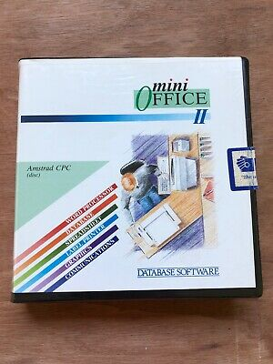 Mini Office II for Amstrad CPC - Boxed And Working