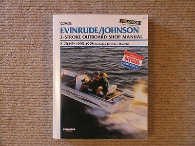 Evinrude and Johnson 2 Stroke Outboard Shop Manual 2-70hp 95-1998
