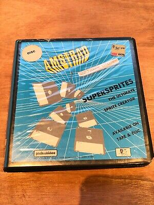 Amstrad Supersprites For Amstrad CPC - Working
