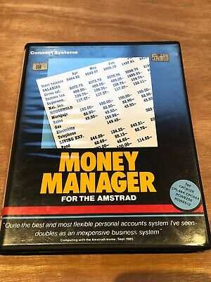 Money Manager For The Amstrad CPC & PCW - Working