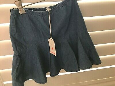 Country Road Girls Size 10  Chambray Denim Skirt Brand New with Tag