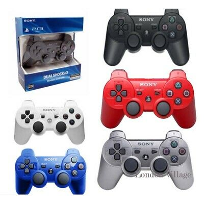 DualShock 3 PS3 Wireless Bluetooth Game Gamepad Controller for Sony PlaySation 3